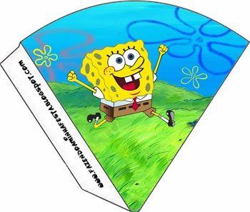 SpongeBob SquarePants: Party Free Printables.