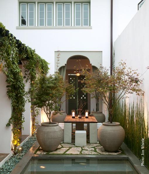 : Modern Gardens, Gardens Verandas Balcony, Invitations Patio, Charms Patio, Small Gardens, Gardens Design, Stones Patio, Outdoor Gardens Landscape, Outdoor Eating