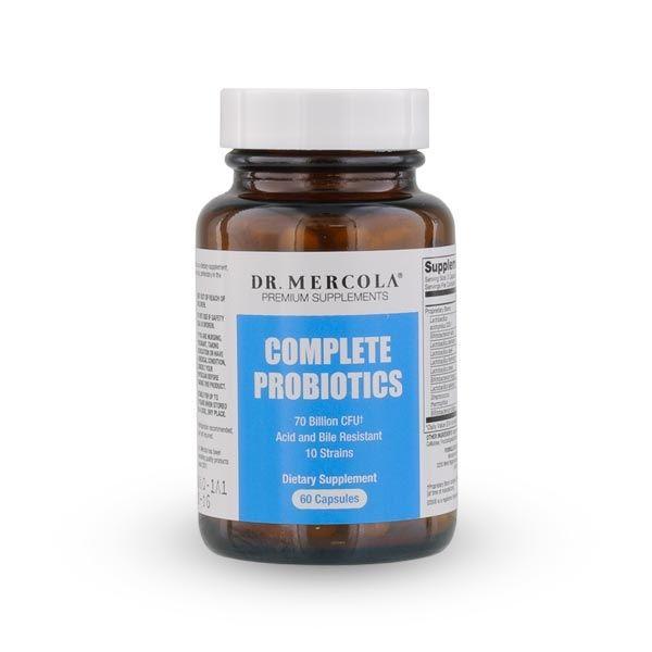 Probiotyki - Complete Probiotics Dr Mercola (60 kapsułek) Sklep Życia
