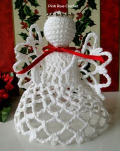 Anjo de Natal Crochet Christmas Angel 6