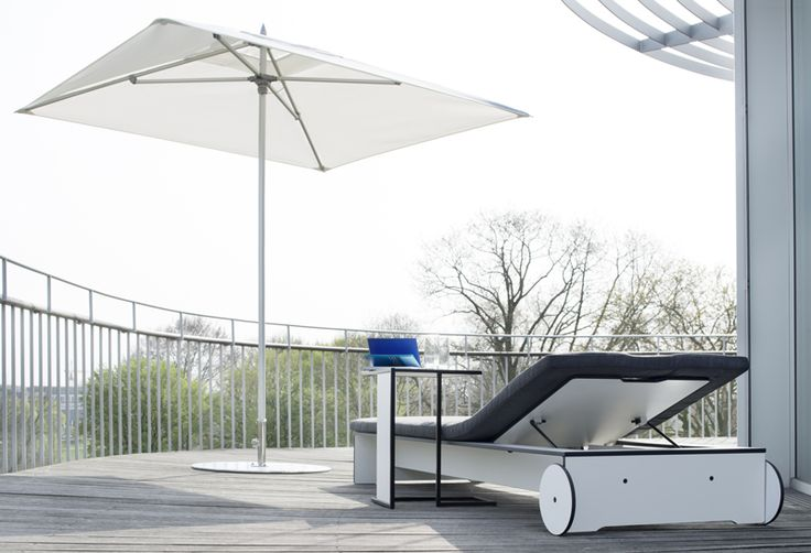 SUNSHADE premium and RIVA Sunbed & Sidetable