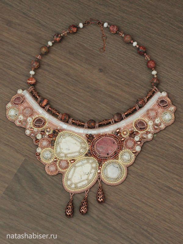 NatashaBiser.ru - украшения из бисера, украшения ручной работы, купить украшения, продажа украшений - Колье (0351)