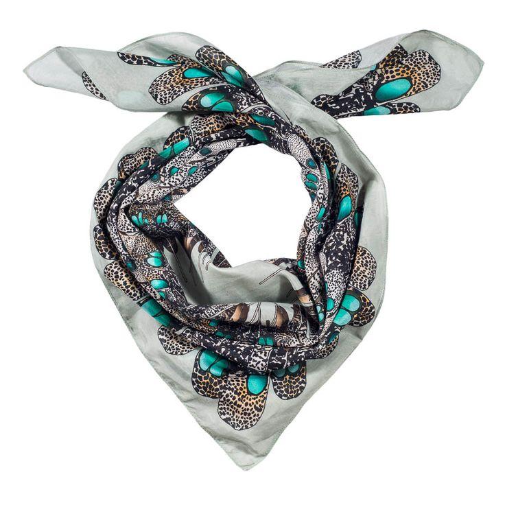 peacock-pheasant scarf