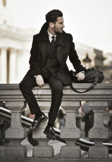 Love his style.