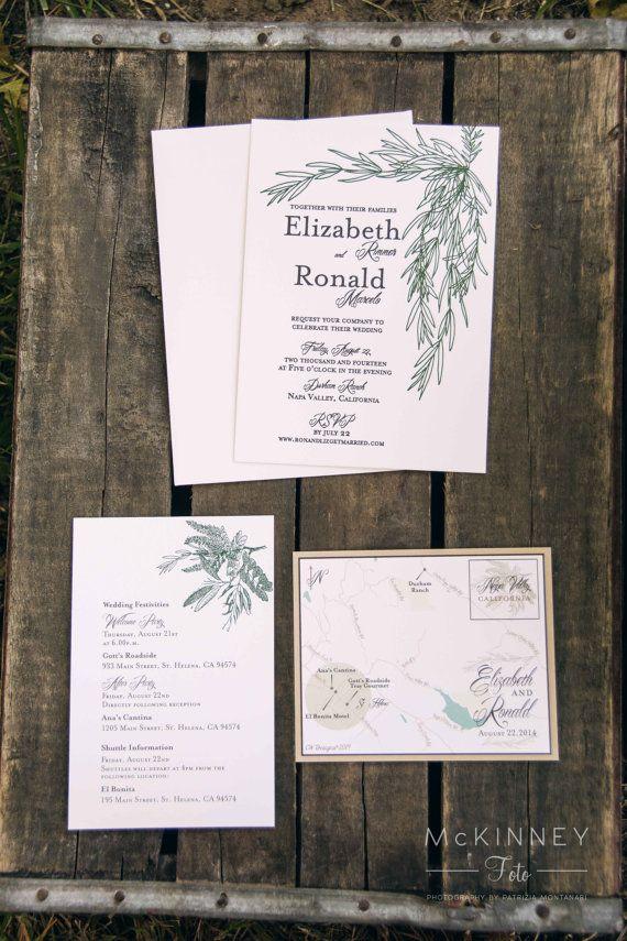 16 best wedding invitations images on Pinterest Wedding