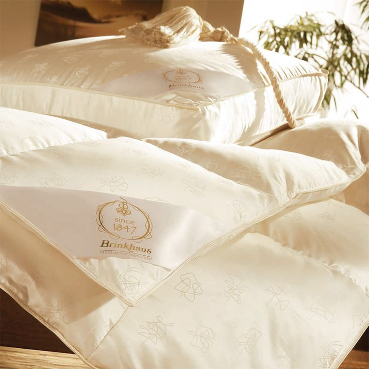 Зимнее пуховое одеяло Brinkhaus ARCTIC (очень теплое)