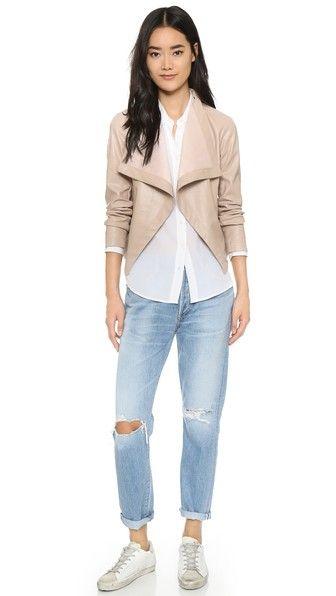 BB Dakota Куртка Ariana с драпировкой спереди