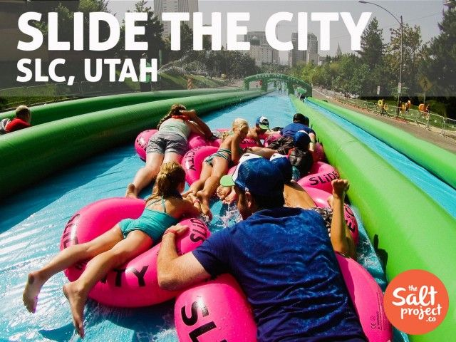 Slide the City | Salt Lake City | The Salt Project | Things to do in Utah with kids