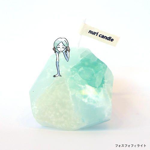 「宝石の国」同じものは2つとない鉱石キャンドル、バッグなどグッズ発売