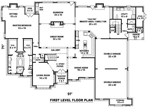 Luxury Style House Plans