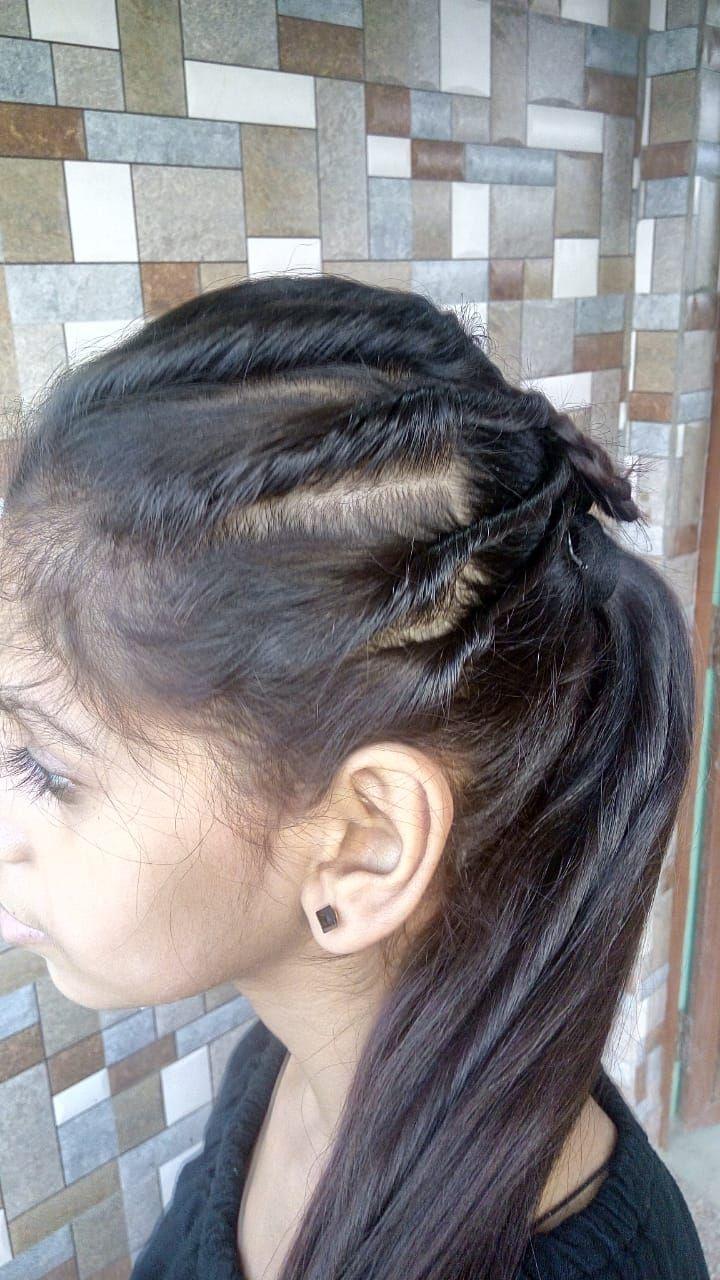 Super einfache Frisur für Mädchen