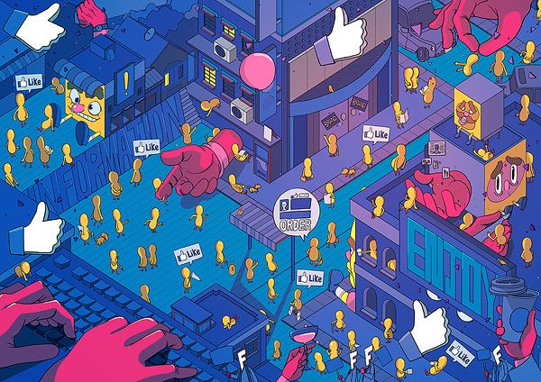Various Illustrations by Sakiroo Choi