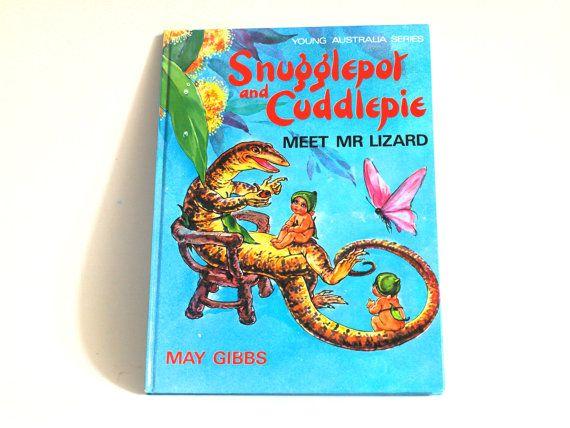 Snugglepot and Cuddlepie Meet Mr Lizard Story Book  by FunkyKoala