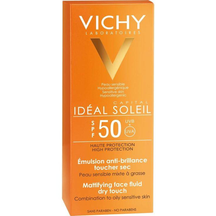 VICHY CAPITAL Soleil Sonnen-Fluid LSF 50:   Packungsinhalt: 50 ml Gel PZN: 09629403 Hersteller: L Oreal Deutschland GmbH Preis: 11,26 EUR…