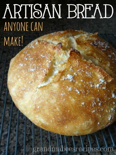Whenever I make this Artisan bread, it comes out of the dutch oven literally crackling!