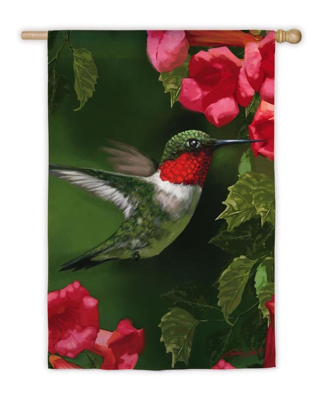 hummingbird flag