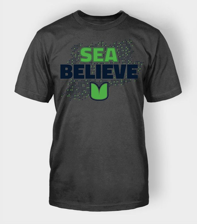 ... SeaBelieve Seattle Football Mens T Shirt Richard Sherman Seahawks Nike  Green Bay Packers 12 Aaron Rodgers Lights Out Black elite ... 47cfd94c4