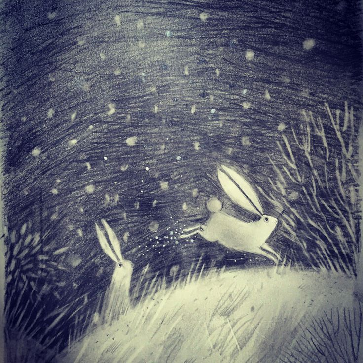"portermoto: alextsmith: Sketchbook: ""White Rabbits"" UK based Illustrator & Children's Book Author. Creator of the CLAUDE books. Works in the UK under the constant supervision of three tiny, naughty dogs. All words & images © Alex T. Smith 2014"