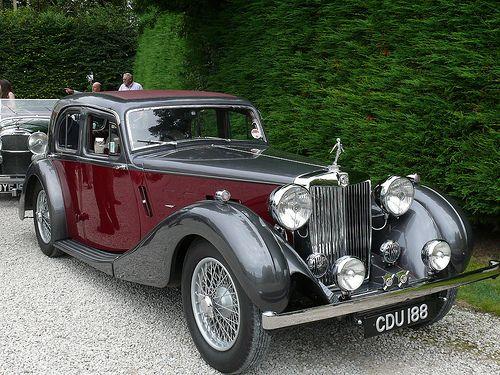 Vintage Car - MG [CDU 188] 110710 Leighton Hall