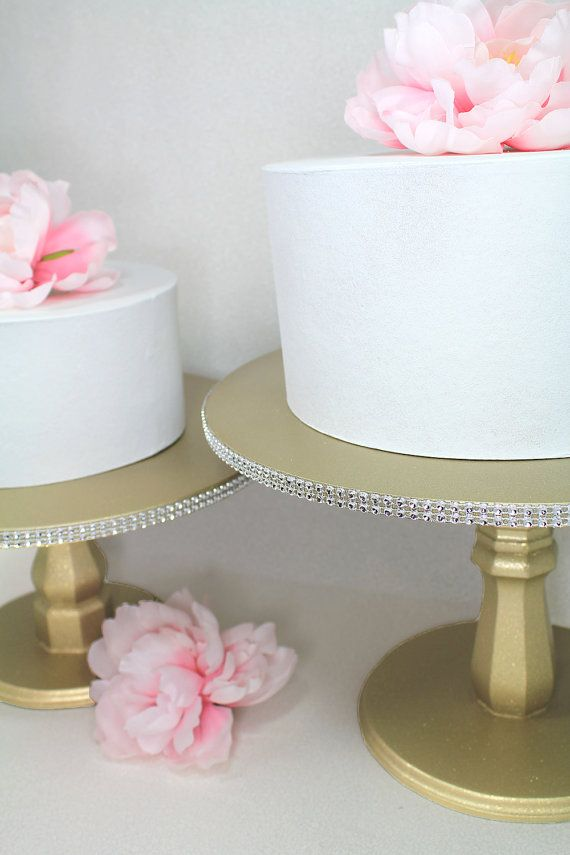1000 Ideas About Gold Cake Stand On Pinterest Crystal