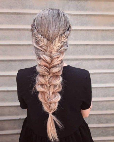 41 Pretty Fishtail Braid Hairstyles Ideas to Copy Now - Hair growns - #Braid #Fishtail #Hairstyles #growns #Hair