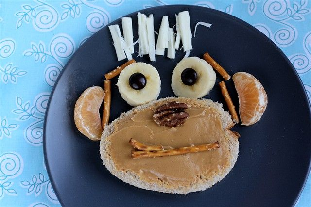 Monkey See, Monkey Do  #kids #eat #kidseating #nice #tasty #food #kidsfood #dessert