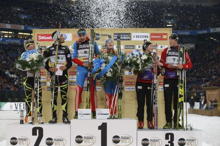 Race of Champions podium