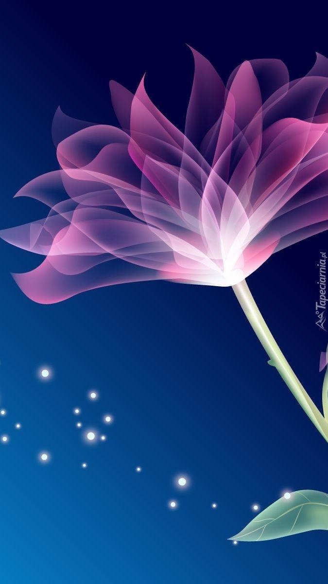 Pin By Asia Stefanska On Tapety Na Telefon Tapeciarnia Pl Flower Desktop Wallpaper Abstract Flowers 3d Wallpaper Of Flowers