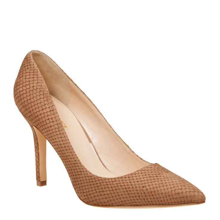 <p>Martina is the classic point toe pump perfect for a day in the office or a stylish after dark soiree. Expertly crafted to elongate the leg, this iconic Nine West style is a must have for any contemporary wardrobe.</p> <ul> <li>Heel Height: 9.5cm</li> </ul>
