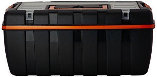 Cogex 72090 Boite de rangement plastique (410x220x180 mm): Boite de rangement plastique (410 x 220 x 180 mm) Avec organiseur et porte…