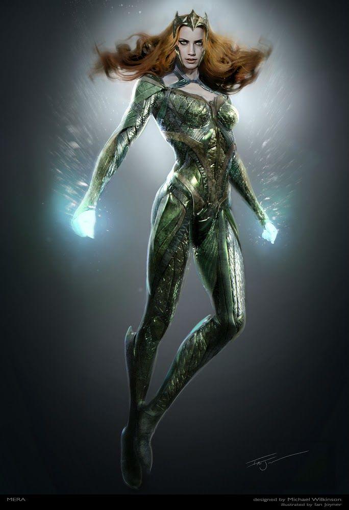 'Justice League' Mera Concept Art - Ian Joyner