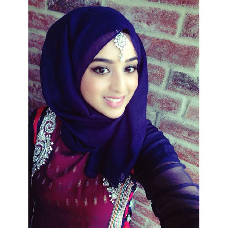 safoorasheed || hijabi fashion. pakistani outfit. desi wedding. maang tikkah. blue hijab. safoorai.