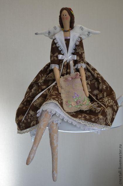 Куклы Тильды ручной работы. Ярмарка Мастеров - ручная работа Кофейный ангел. Handmade.