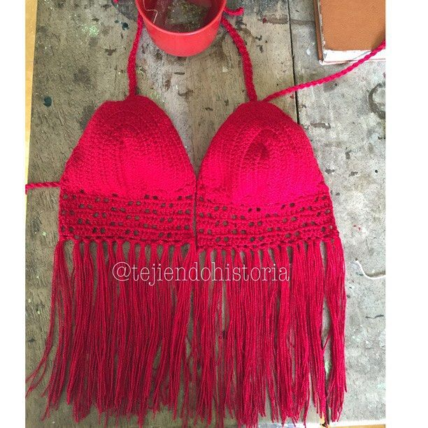 #croptop tejido en #crochet  Pedidos al whatsapp 3214543862