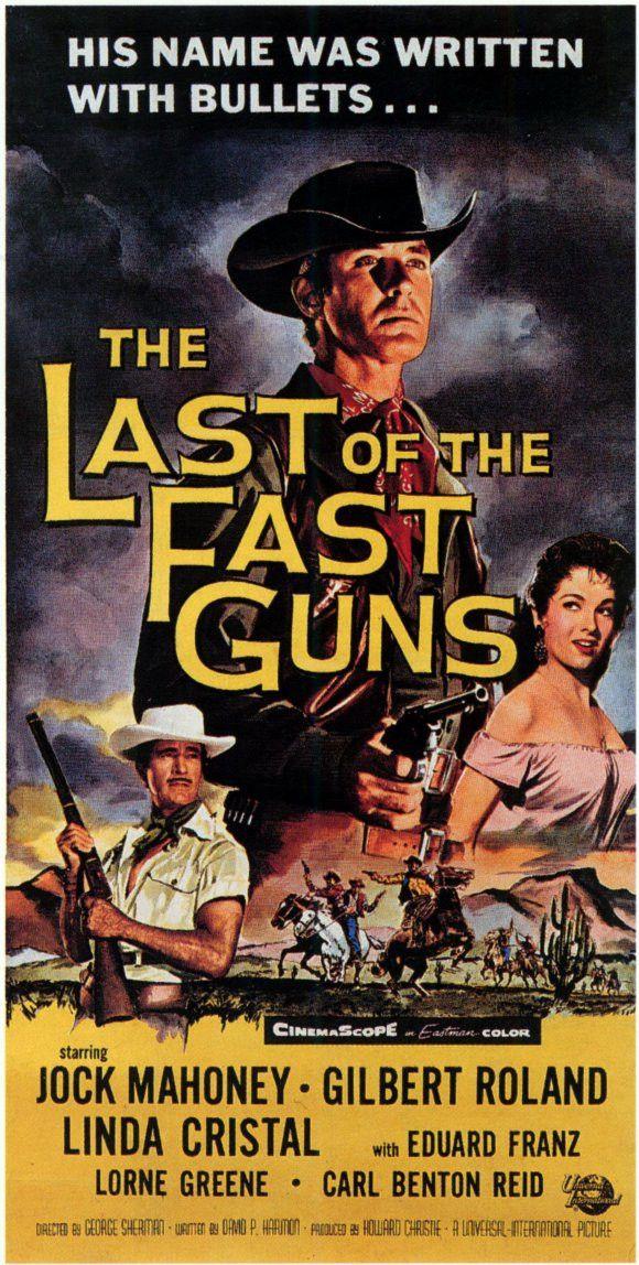 Last Of The Fast Guns (1958) - Jock Mahoney DVD