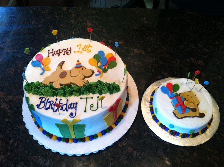 Where's Spot Birthday Cake and Smash Cake for first birthday