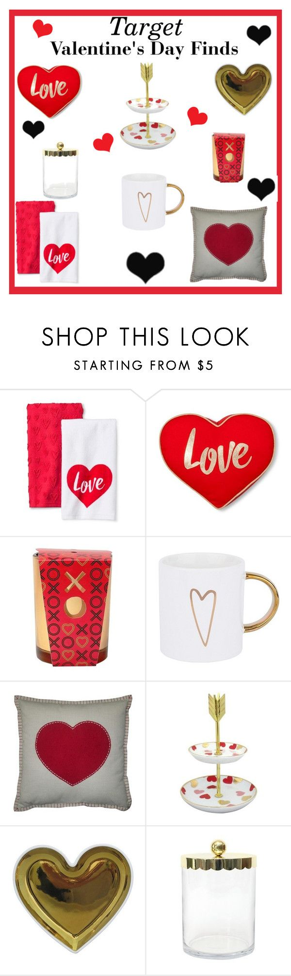 """""""Target Valentine's Day Finds"""" by lanaebond ❤ liked on Polyvore featuring XOXO, West 