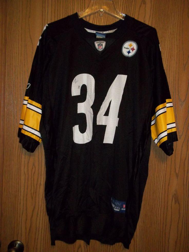 Rashard Mendenhall 34 Pittsburgh Steelers Football Jersey