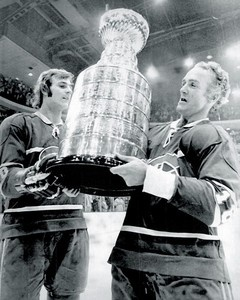 Guy Lafleur & Henri Richard