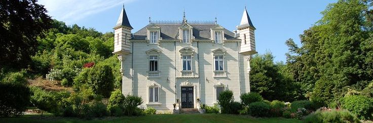 Our Little Place in France..............    Chateau La Perriere, private chateau for holiday accommodation, Chinon, France near the River Vienne