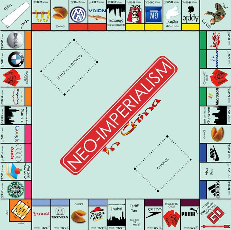 Neo-imperialism. The Monopoly Edition