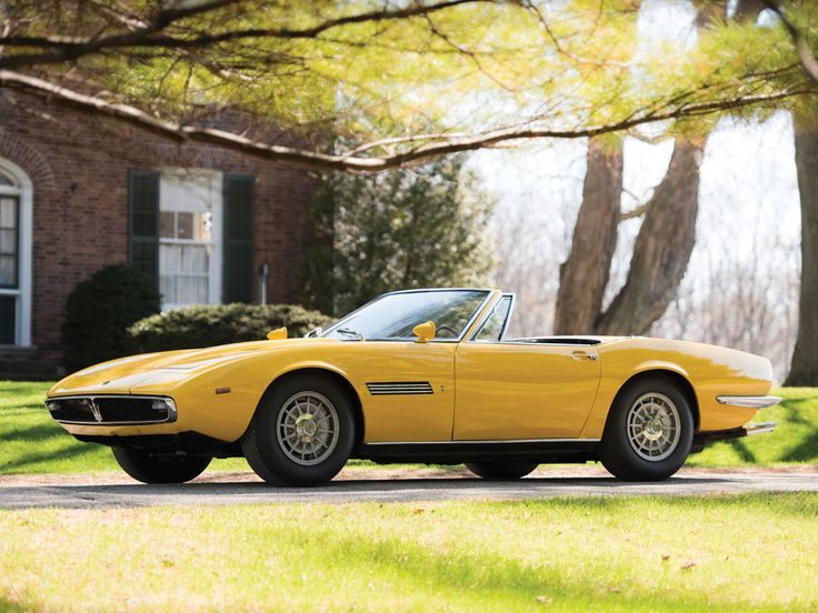 1968 Maserati Ghibli Spyder Prototype at Monterey RM auction this summer. You can lease it through Premier. Apply online for auction pre-approval. #Maserati #LeaseAMaserati #MontereyAuction