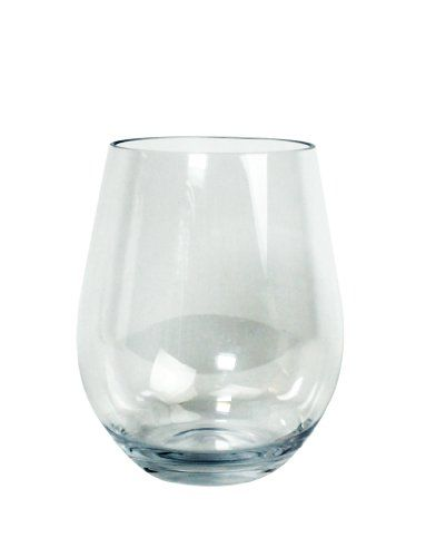 Unbreakable Wine Glasses – 100% Tritan – Shatterproof, Reusable, Dishwasher Safe (Set of 8 Stemless) by D'Eco  Shatterproof Stemless Wine Glasses: Unbreakable, Reusable, Dishwasher Safe (8 Pack) by D'Eco- Our wine glasses allow you to have the look and feel of real glassware without worrying about breaking or shattering them. Each glass is made from Tritan, a plastic type material that looks like glass, but won't shatter or break like glass. They are an elegant way to entertain. Thes..