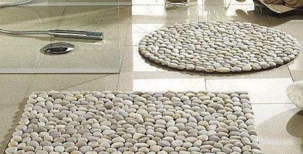 Como fazer Tapete de Pedras
