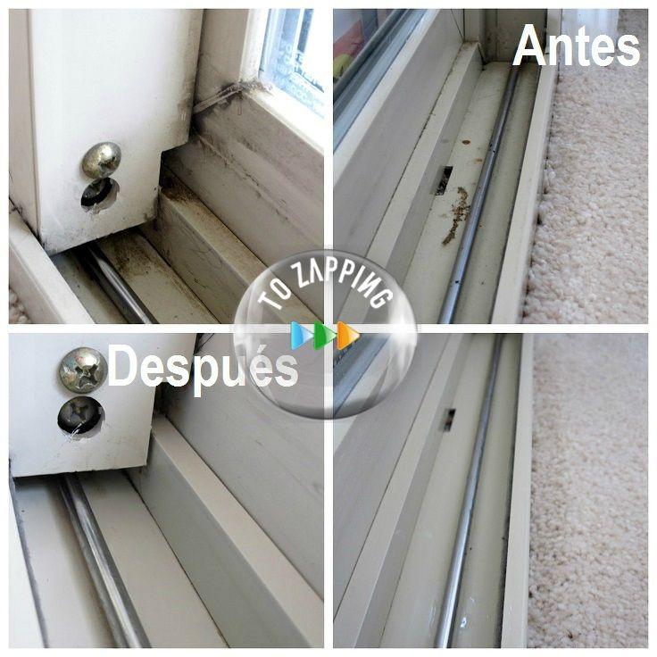 Trucos de limpieza del hogar.Hoy queremos daros una fantástica idea para limpiar con facilidad las guías de las ventanas de aluminio. En Tozapping.com te