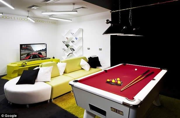 office game room. perfect room googleu0027s london office is awfully compelling  game rooms room and break  room and f