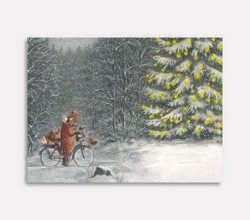 Mamma Mu och Kråkan och julgranen