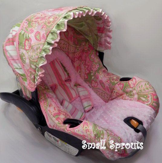 1000 images about infant girl car seat covers on pinterest. Black Bedroom Furniture Sets. Home Design Ideas