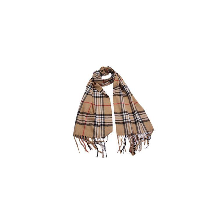 Cachecol Burberry Bege de Lã #Cachecol #Cachecóis #scarfs #scarf #fashion #modafeminina #moda