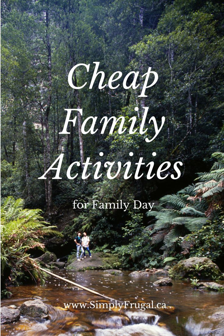 Who says family fun has to cost a lot? Here you'll find a list of Cheap Family Activities everyone will enjoy!